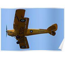 """de Havilland DH-82A """"Tiger Moth"""" Poster"""