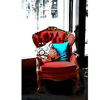 Chair of Envy Photographic Print