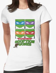 Adoption Works: TMNT Womens Fitted T-Shirt