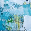 Graffiti Blue No.1 by Orla Cahill Photography