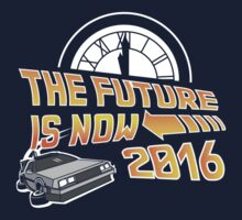 Back to the Future, The future is now 2016 Kids Tee
