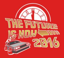 Back to the Future, The future is now 2016 One Piece - Short Sleeve