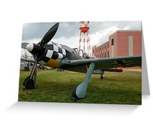 Focke-Wulf FW-190 A3 Greeting Card