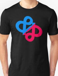 Ampersand Infinity Typography T-Shirt