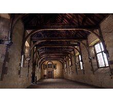 Indoor Riding School At Bolsover Castle Photographic Print