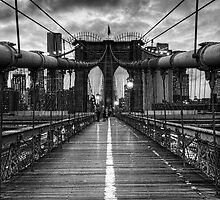Brooklyn Bridge by Mari  Wirta