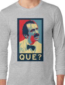 QUE? Long Sleeve T-Shirt