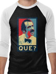 QUE? Men's Baseball ¾ T-Shirt