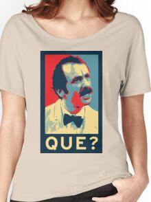 QUE? Women's Relaxed Fit T-Shirt