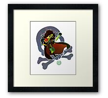Tightest Pants in Space Framed Print