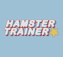 Hamster Trainer Arcade Baby Tee