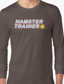 Hamster Trainer Arcade Long Sleeve T-Shirt