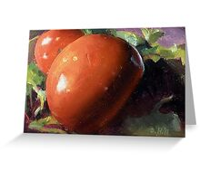 Salad Fixins-Vegetable Still Life  Greeting Card