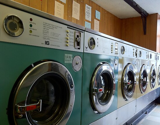 My beautiful launderette by marc melander