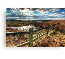 View across Poole Bay Canvas Print