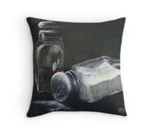 Salt N Peppa Throw Pillow