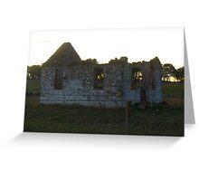 Yarra ruins, NSW Greeting Card