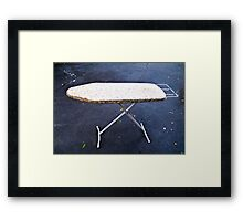 The Ironing Board Framed Print