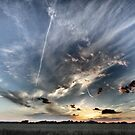 Clouds & Contrails by Peter Tachauer