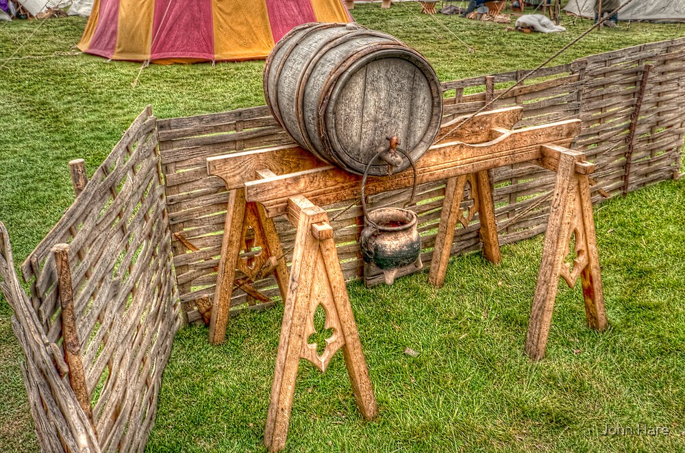 Barrel And Stand by John Hare