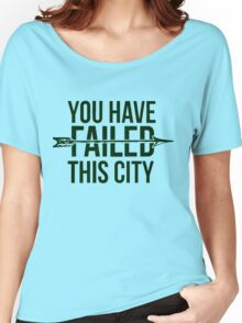 Failed City Women's Relaxed Fit T-Shirt