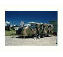 GAF Nomad Trailer @ Bankstown Air Museum Art Print