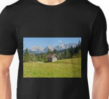 A Barn near Kranzbach Castle  Unisex T-Shirt