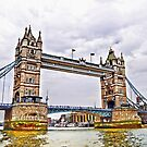 Towers Over the Thames - London, UK by Skye Ryan-Evans