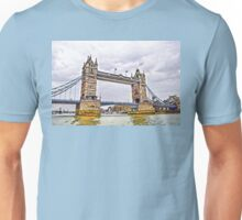 Towers Over the Thames - London, UK Unisex T-Shirt