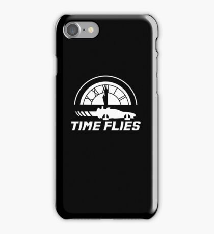 Time Flies (Back to the Future) iPhone Case/Skin
