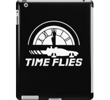 Time Flies (Back to the Future) iPad Case/Skin