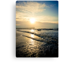 Golden Hour - Isle of Palms Sunrise Canvas Print
