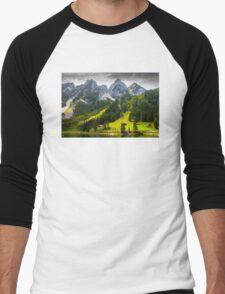 Mountain Lake Men's Baseball ¾ T-Shirt