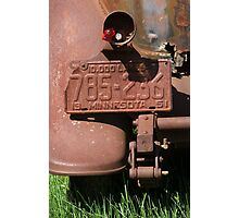Plate of Rust Photographic Print