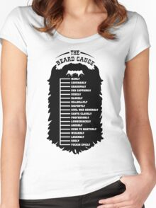 Beard Gauge 2 Women's Fitted Scoop T-Shirt