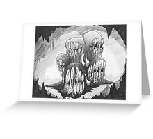 MouthLord Horde in the Caverns.  Greeting Card