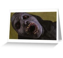Listening to Fear - Queller Demon - BtVS Greeting Card