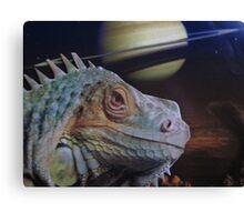 Super Size Me Lizard Canvas Print