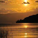 Ohrid Sunset 2 by Kasia Nowak