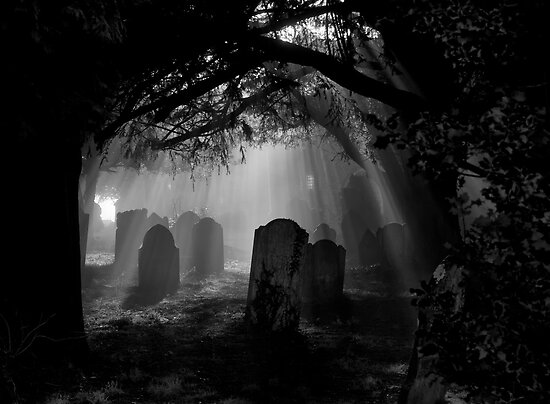 Grave Rays by ajgosling