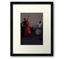 RockaFella Playing the Bass Framed Print
