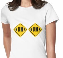 BUMP BUMP road sign tee Womens Fitted T-Shirt