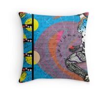 sHero's Compass Throw Pillow