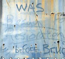 Ready For Restoration by Bob Wall