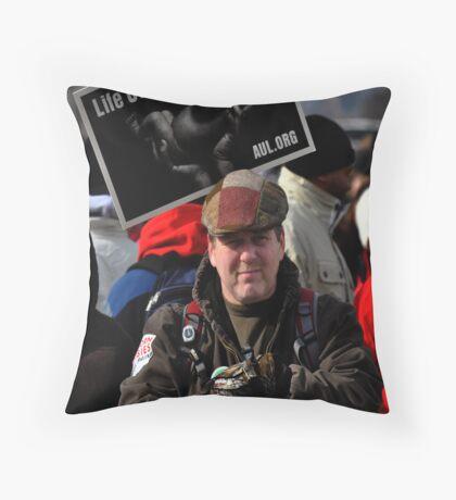 Life counts Throw Pillow