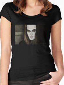 Buffy Vs. Dracula - Dracula - BtVS Women's Fitted Scoop T-Shirt