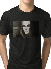 Buffy Vs. Dracula - Dracula - BtVS Tri-blend T-Shirt