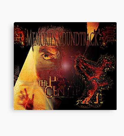The Human Centipede - Soundtrack parody Canvas Print