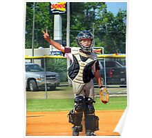 young catcher Poster