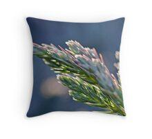 Conifer Tip Throw Pillow